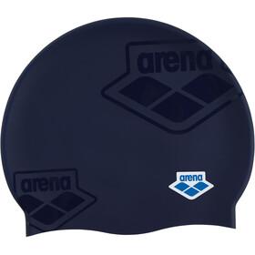 arena Team Stripe Flat Cap, blauw